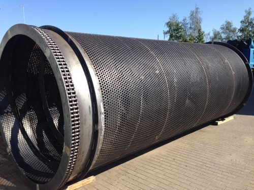 Doppstadt SM718 Profi replacement screen trommel drum made to order 10-120mm (6mm)
