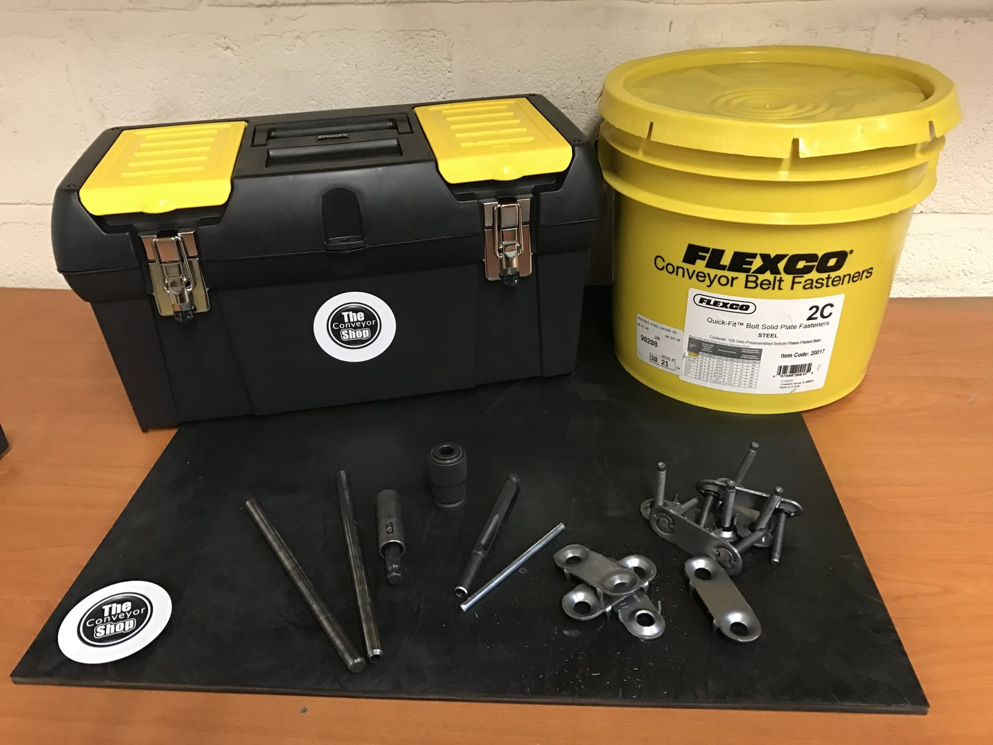 Flexco 2c Clipping Repair Kit Bolt Solid Plate Fasteners