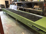 800mm wide x 10 meters long conveyor, 3 phase or hydraulic drive with stands