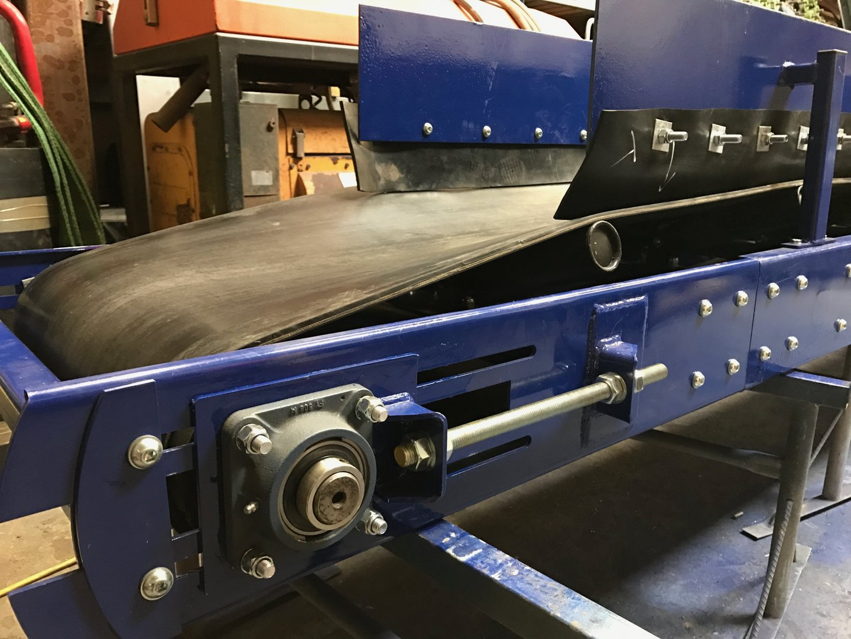 Hydraulic Conveyor Drive : Mm wide meters long conveyor modular belt