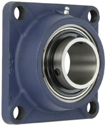 SKF FY 40 TF  four bolt flanged unit bearing, with full spec sheet