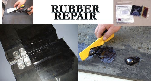 Conveyor belt repair resin designed for quick Application for fixing rubber fast