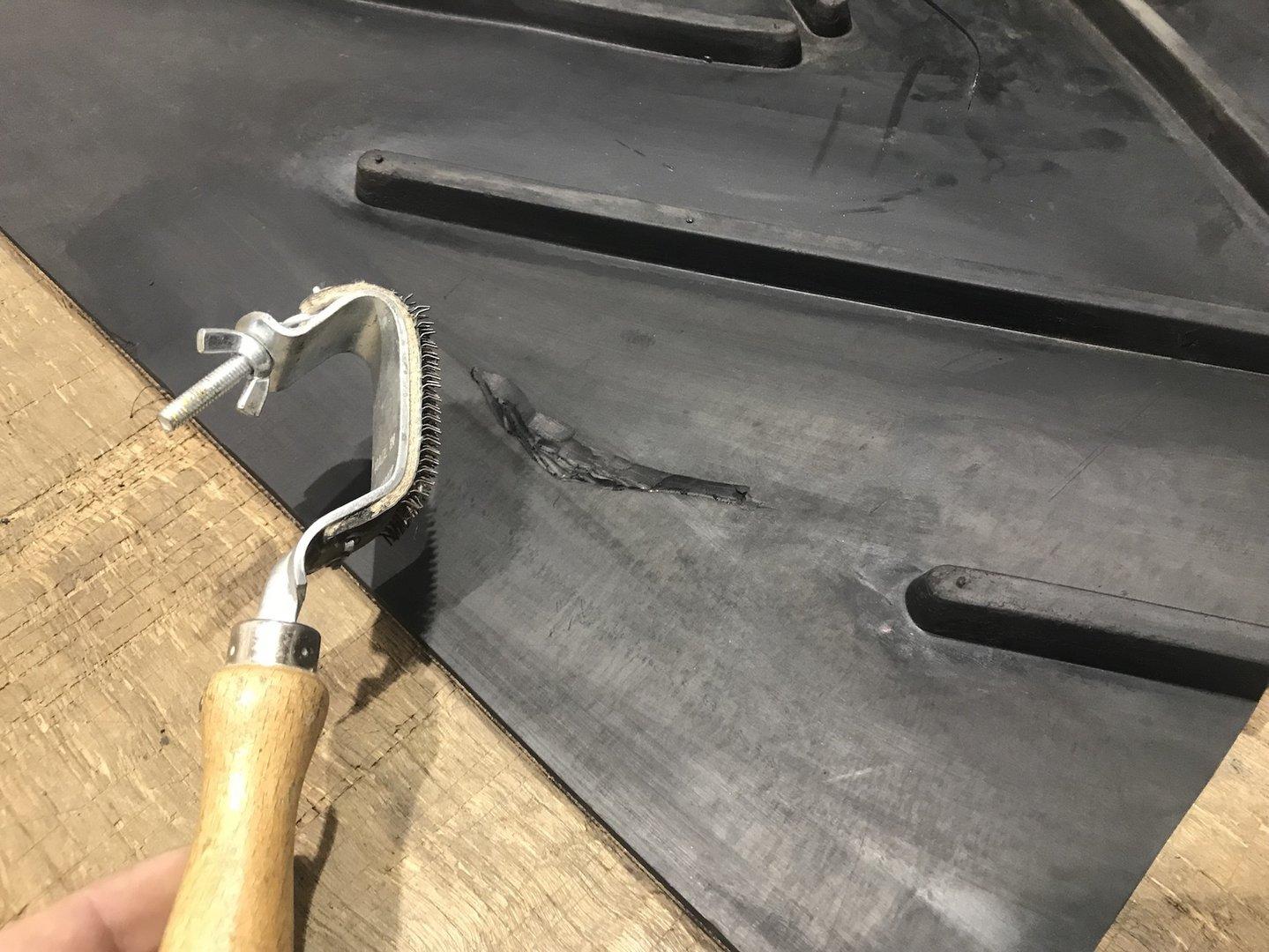 Conveyor Belt Rubber Repair Kit Designed For Fixing Rubber
