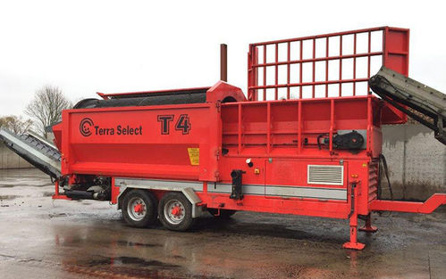 Terra Select T4 replacement trommel drum made to order out of 8mm